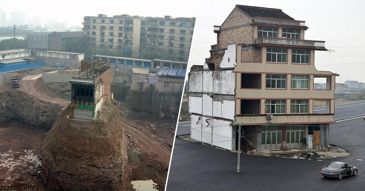15 домов упрÑмых хозÑев, которые не хотели переезжать