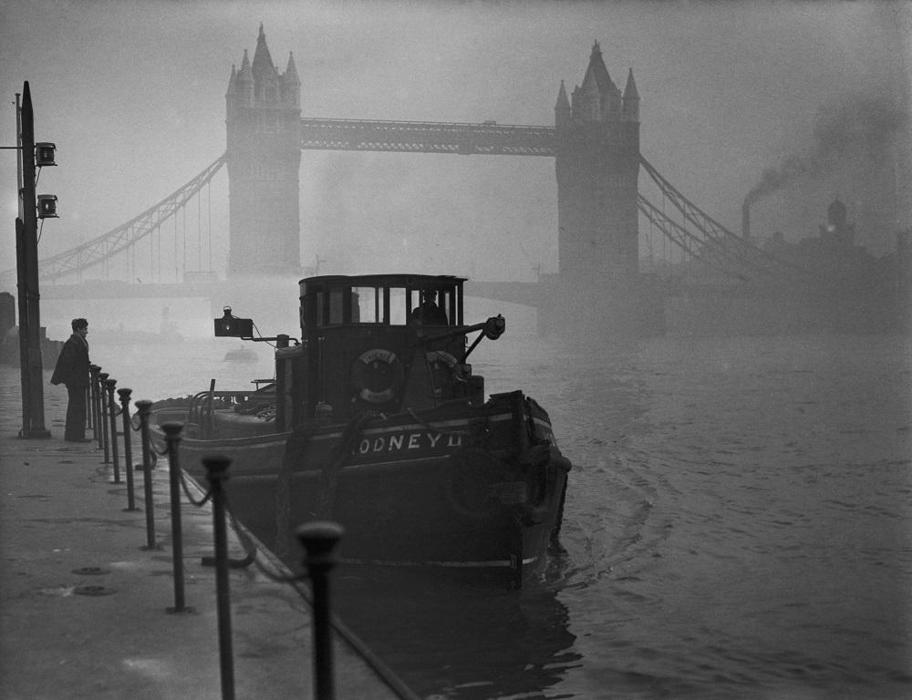 Яд, туман и тысячи погибших: фото Великого смога, превратившего Лондон в эталон нуара