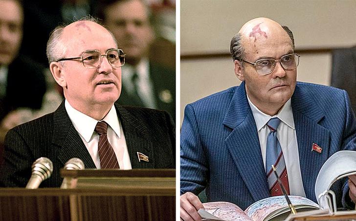 Как выглядели настоящие герои сериала -Чернобыль-