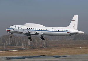 Исчезновение самолета Ил-20 …