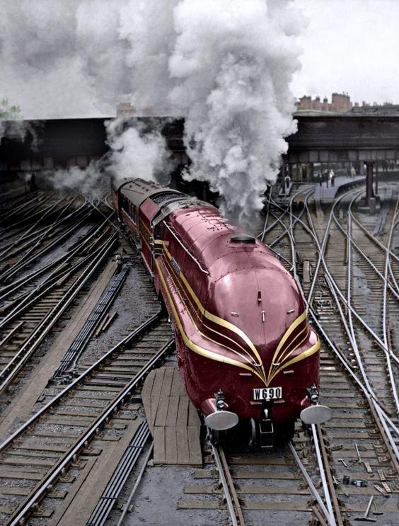 Поезд Цеппелин вагоны, железнодорожные, изобретения, поезда, рельсы, факты, фантазии