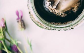 Кофе с кардамоном и лавандой