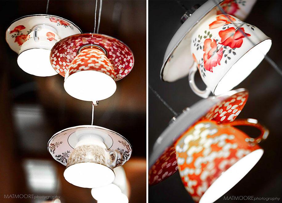 Декор плафонов люстры