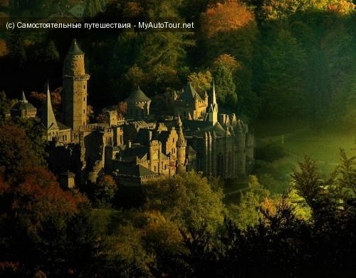Замок Левенбург - плод любви к средневековым дворцам