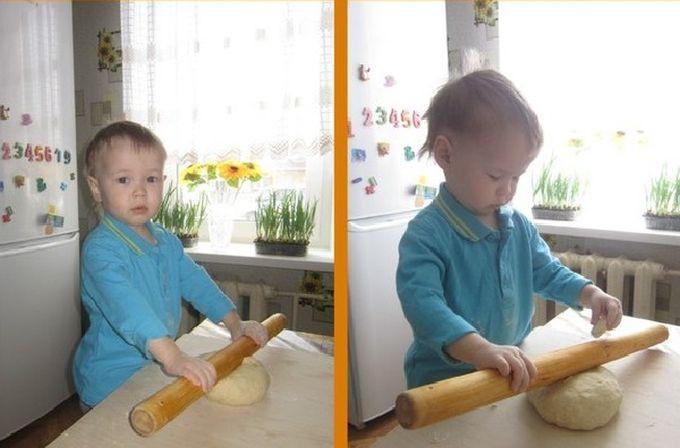 Мастер-класс по приготовлению пирога объявляю открытым. дети, позитив, сын