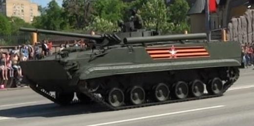 Российская армия получила БМП-3 с тепловизорами