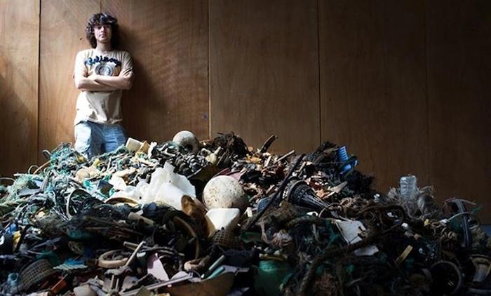 Бойан слат - автор концепта очистки океана.