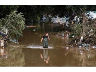 Сильное наводнение пошатнуло веру в миф об устройстве немецкого общества и государства геополитика