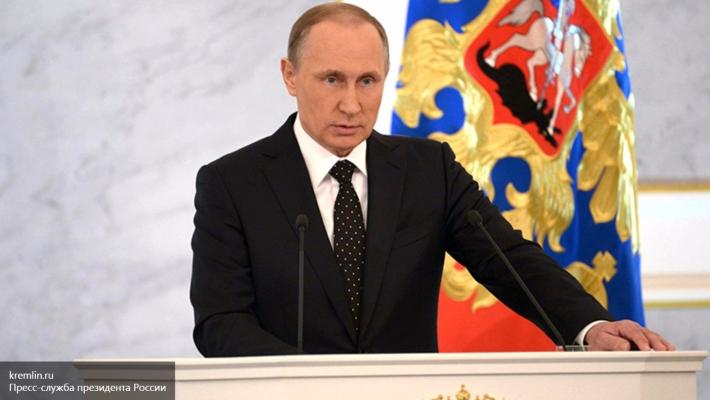 Новогоднее поздравление Путина: борьба с терроризмом, 70 лет Победы, семейные ценности