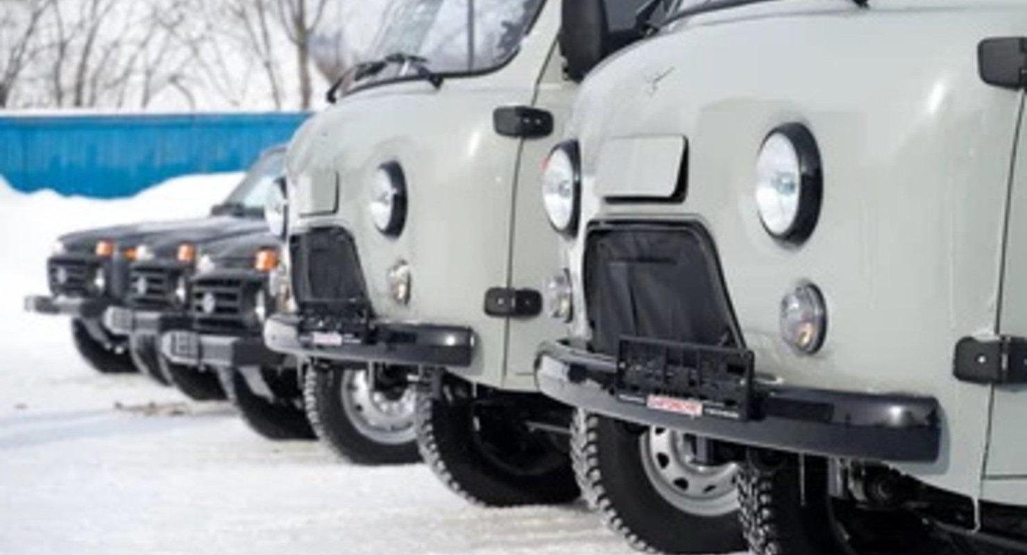 Прилузская ЦРБ получила семь новых автомобилей скорой помощи Автомобили