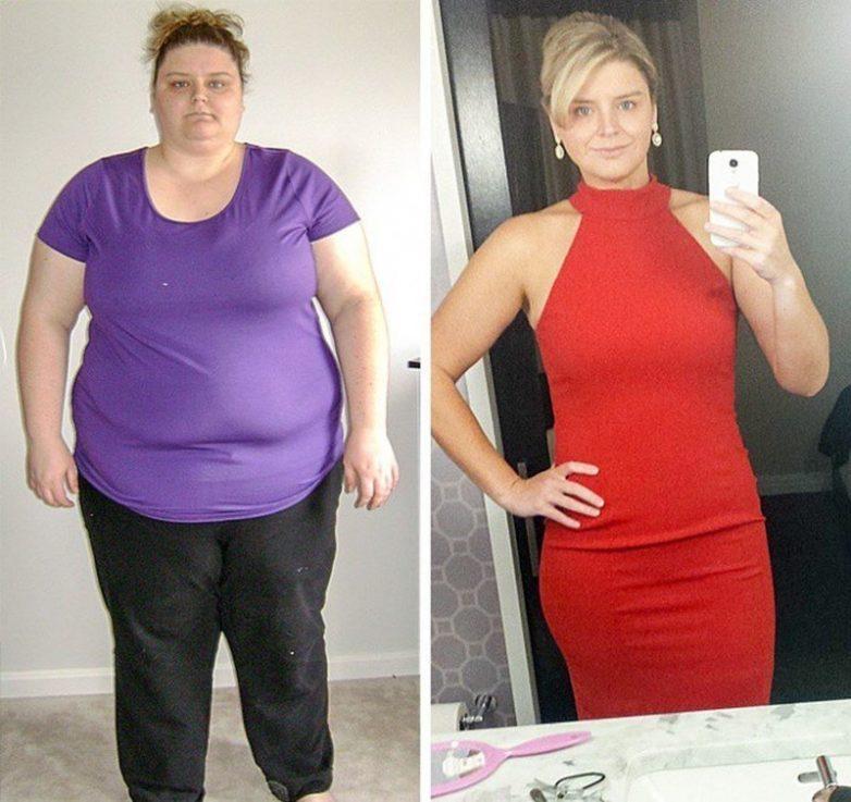 Реальные истории сильного похудения