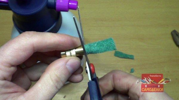 Изготовление самодельного пеногенератора