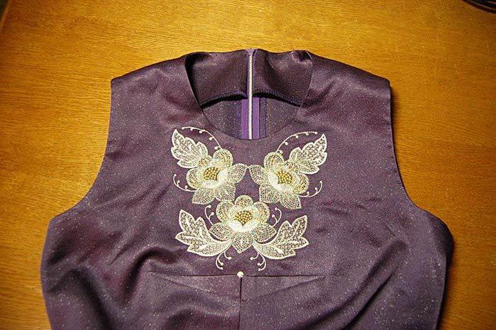 Обтачка для платья