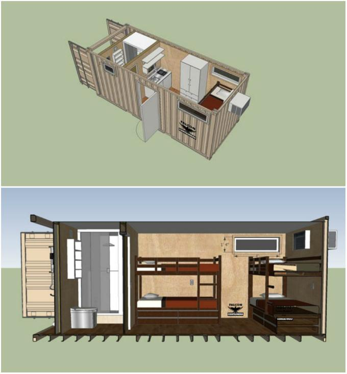 Строительство домов из контейнеров в россии