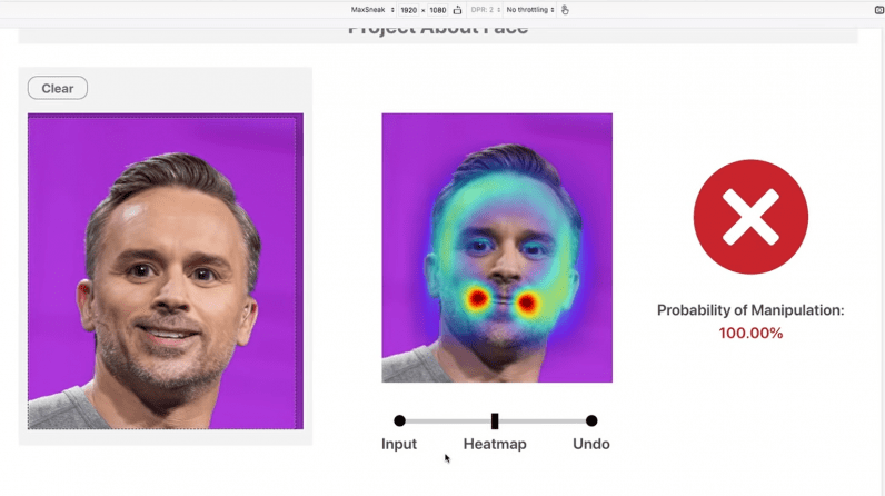 Новый инструмент Adobe может определить, было ли лицо отретушировано