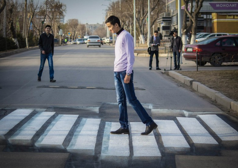 3D-переход для пешеходов