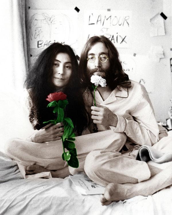Джон Леннон и Йоко Оно: история безумной любви