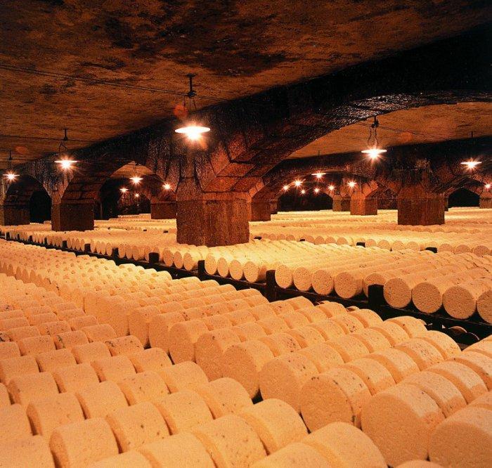 Сырные пещеры рокфора