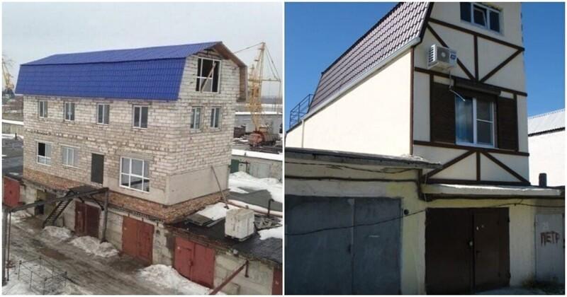 Царь-гаражи: незаконные постройки России, в которых живут люди