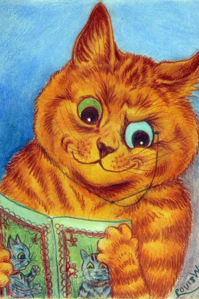 Грустная история о художнике, который рисовал котиков