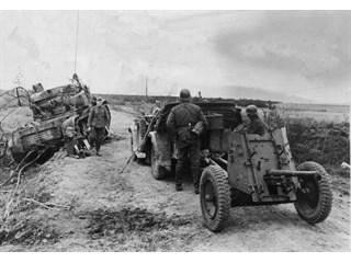 Приемы наступления немцев и их оборона