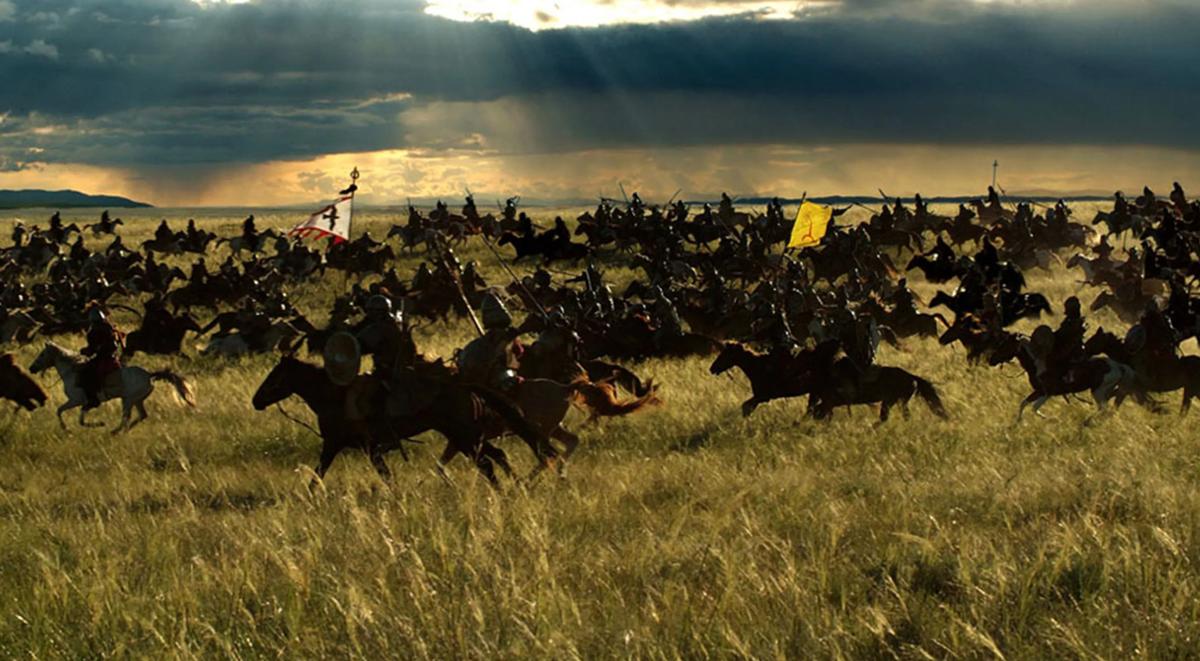 Терек в 1262 году. Последствия ликвидации багдадской и монгольской армии - скифами, сарматами, и русичами.
