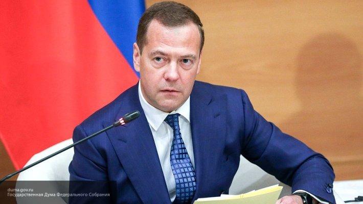 Медведев провел телефонный разговор с главой правительства Киргизии