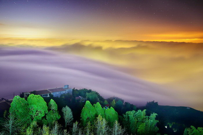 Туманные работы тайваньского фотографа