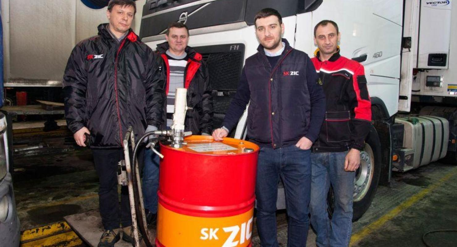 Моторное масло ZIC. Перевозчик оценит качество и ресурс Автомобили
