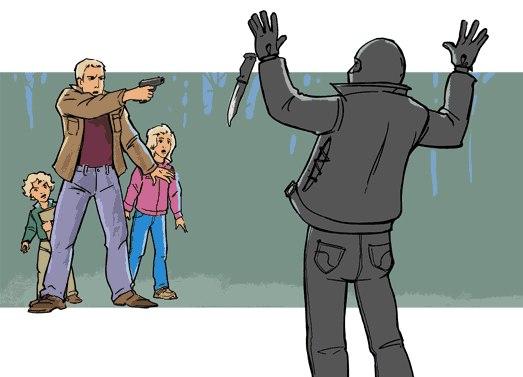 Мифы о самообороне