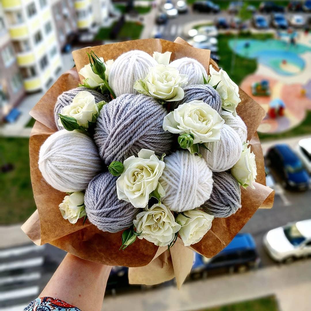 Розы, идеи для букетов