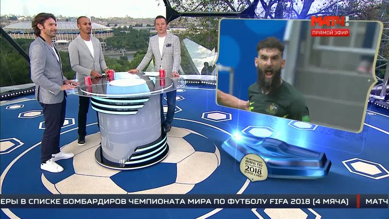 «Все на Матч!»: Разбор игры Дания - Австралия