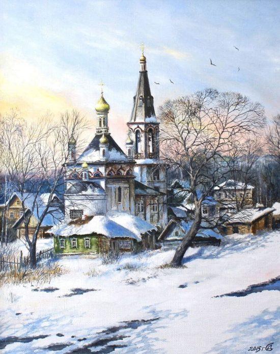 художник Сергей Дорофеев картины – 31