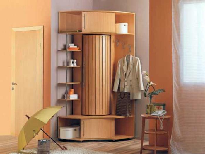 Эргономичный угловой шкаф.   Фото: decorationinfo.ru.