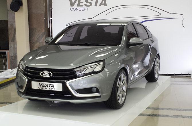 LADA Vesta: от концепт-кара до серийного производства – 1 год!