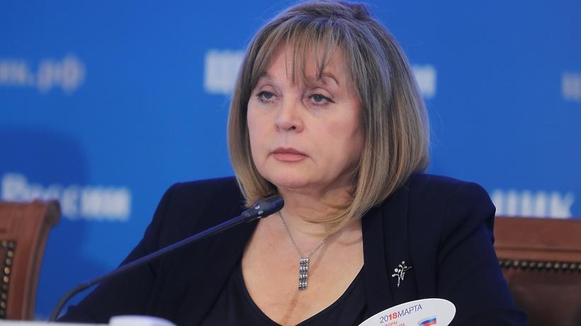 Памфилова заявила, что Собянин взял на контроль ситуацию с выборами в Мосгордуму