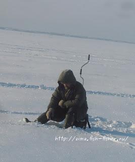 Зимняя рыбалка. Очередной отчет о поездке на озеро