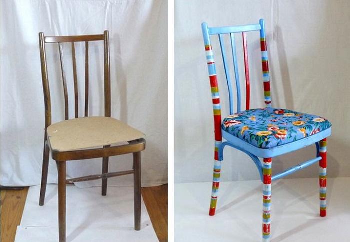Новая жизнь стульям.
