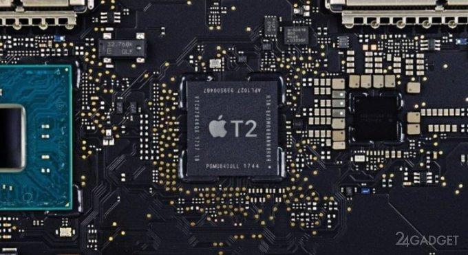Чип безопасности Apple T2 имеет неустранимую уязвимость