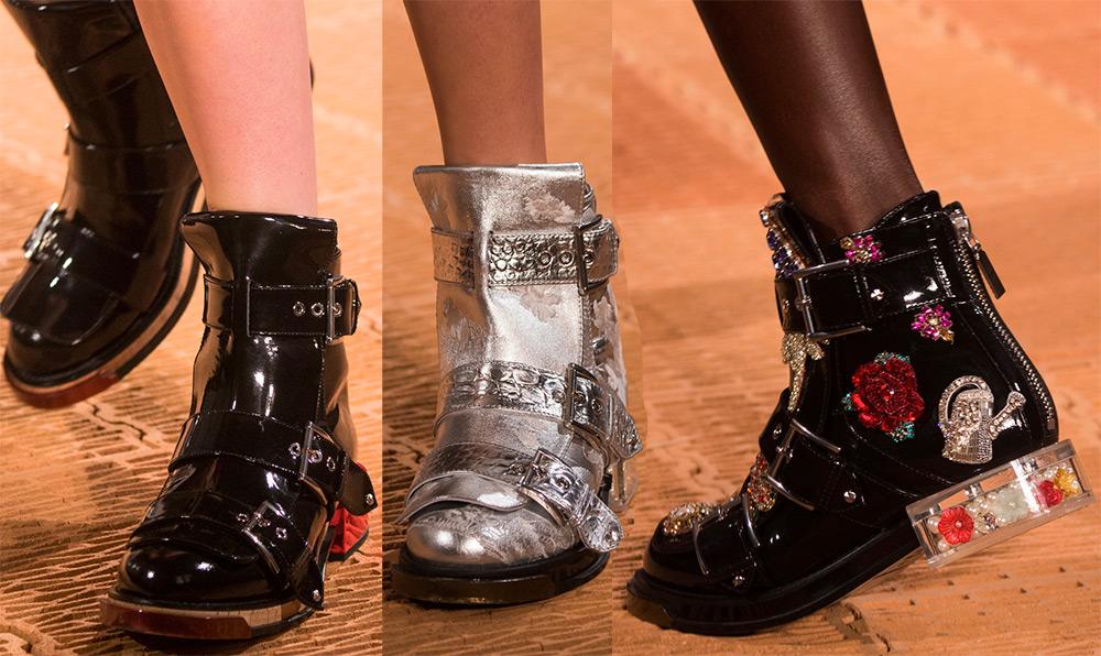 Модные женские ботинки 2018 года — тенденции в фото