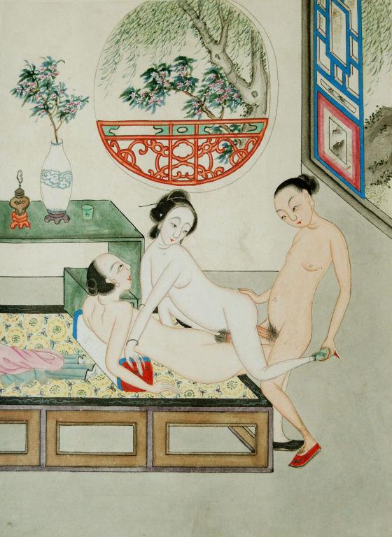 Китайские забавы эротика