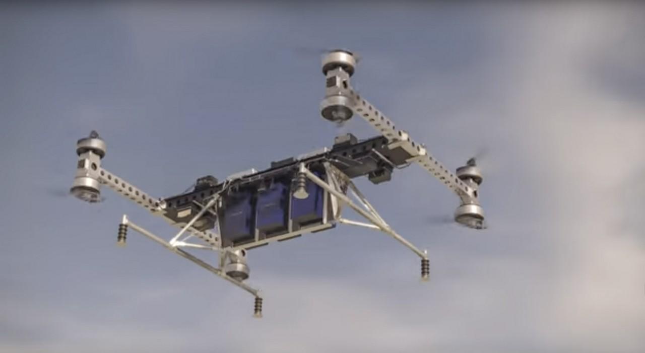 Boeing испытал грузоподъемный октокоптер