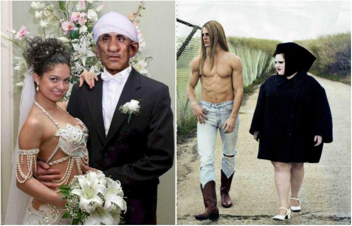 15 семейных пар, доказывающих, что настоящая любовь слепа