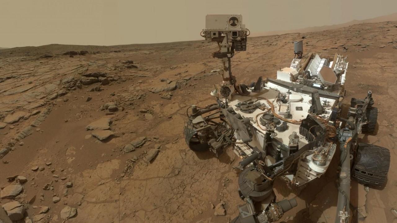 Ровер Curiosity обнаруживает связанный азот на Марсе