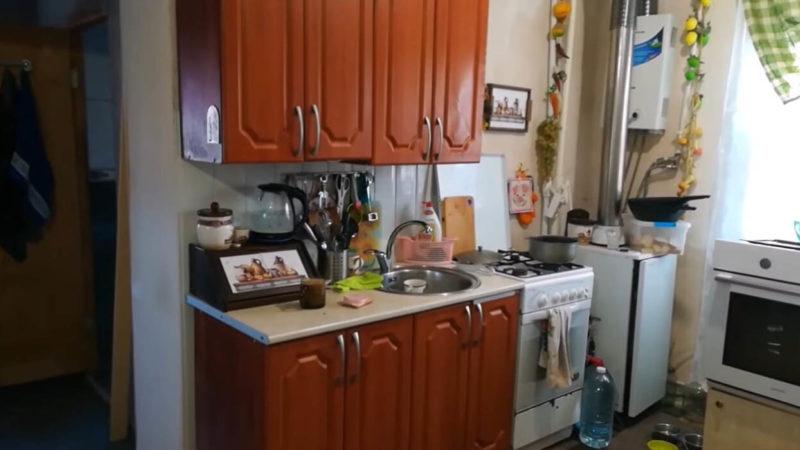 Отличная переделка старых кухонных шкафов
