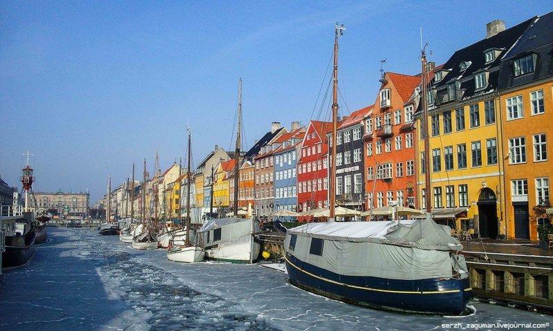 Нюхавн — самый атмосферный район Копенгагена путешествия, факты, фото