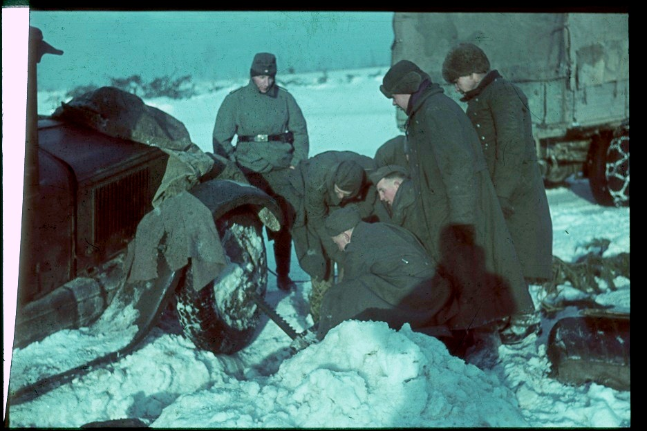 Зима по-русски (ватники)