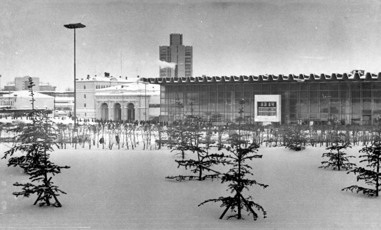 Курский вокзал. Фото 1965 года. интересное, москва, старые фото, фото