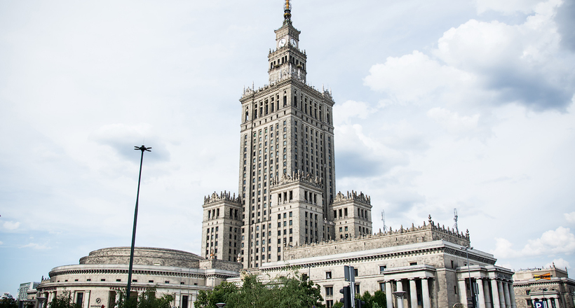 Гигантский памятник Советско…