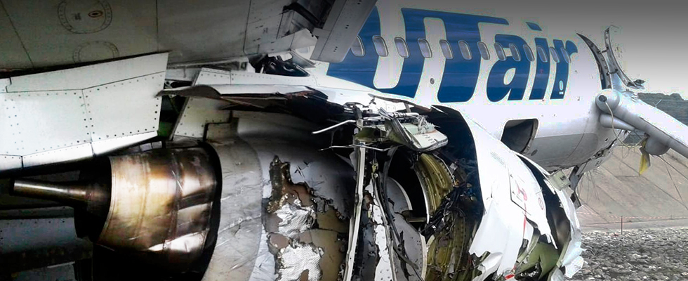 Пассажир аварийного Боинга ЮТэйр в Сочи рассказал про эвакуацию